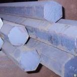 Шестигранник стальной 5 - 200 мм. Качественные стали. Наличие, Якутск