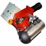 Горелка на отработанном масле AL-50V для котла или парогенератора, Якутск